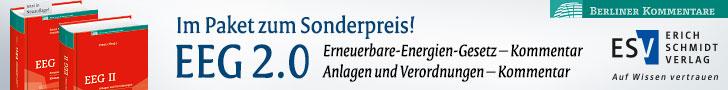 Berliner Kommentare EEG + EEG II im Paket zum Sonderpreis