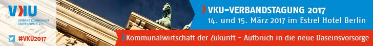 VKU-Verbandstagung 2017 am 14. und 15. März 2017 in Berlin