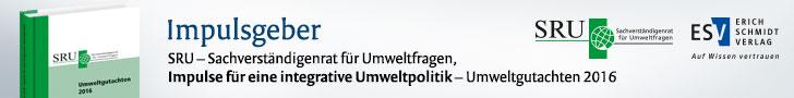 SRU, Impulse für eine integrative Umweltpolitik. Umweltgutachten 2016