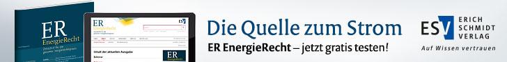Der Energieschub für Ihren Wissensspeicher: ER EnergieRecht – Jetzt gratis testen!